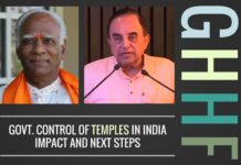 A brilliant speech on a wide ranging set of topics on Temples, Hinduism and Leadership