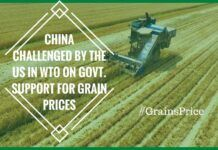 China challenged by US over Grains price