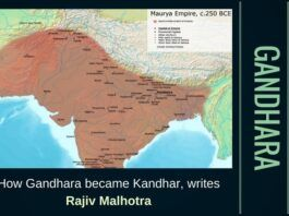 Gandhara was the trade crossroad and cultural meeting place between India, Central Asia, and the Middle East.