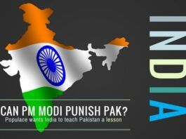 Populace wants India to teach Pakistan a lesson
