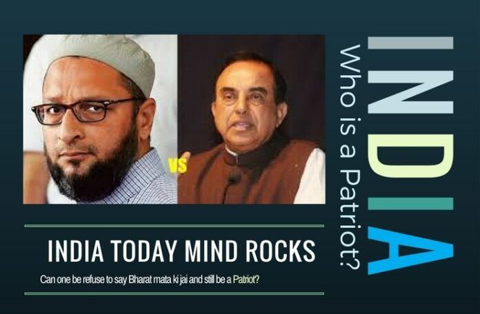 Swamy and Owaisi face off on who is a patriot