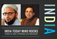 The complete debate between Dr. Swamy and Asaduddin Owaisi on Patriotism and Nationalism