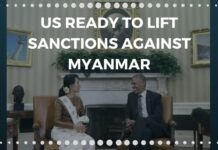 US ready to lift sanctions against Myanmar