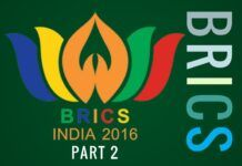 Concluding portion of BRICS Goa Declaration.