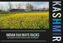 Indian Railways is racking up losses due to the current unrest in Kashmir