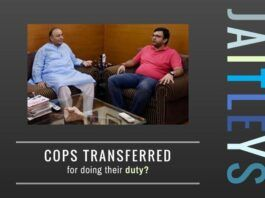 Did Arun Jaitley or someone close to him pressure Delhi Police to transfer the two constables for doing their duty?
