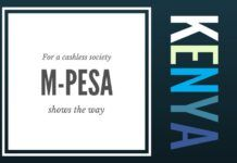 Using M-pesa Kenya leads the way in going cashless