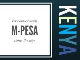 Using M-pesa Kenya leads the way in going cashless