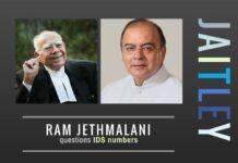 Veteran lawyer Ram Jethmalani takes aim at Jaitley on black money