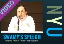 Video of Dr. Swamy's talk at NYU in connection with IndoPak2016
