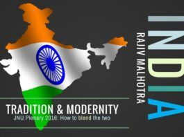 Rajiv Malhotra talks about Tradition & Modernity and how to blend the two