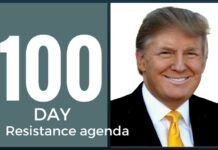 Rally to Democrats to form their own First 100 Day agenda