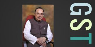 Swamy requests to address the BJP PP on GSTN & Anti-corruption act amendments prior to start of Winter session