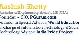 Profile of Aashish Shetty