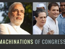 The Congress with its ideological cousins the Left are desperately trying to stall the functioning of the Parliament.