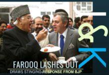 Did Farooq Abdullah cross the Lakshman Rekha by raking up PoK?