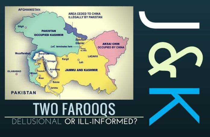 Farooq and Farooq - Delusional or ill-informed?