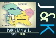 To split Pakistan, measures have to be taken at several levels and those who live there who are for a split should be isolated and encouraged