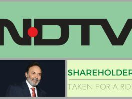 Were the NDTV shareholders taken for a ride? Share transfers at throwaway prices?