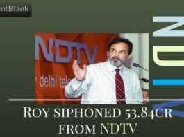 The IT Dept. has unearthed an instance of Prannoy Roy moving approx. Rs.53.84 crores by rigging NDTV stocks.
