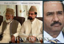 Hacked phone call records of an ISI officer reveal conversations with Gilani and Mirwaiz