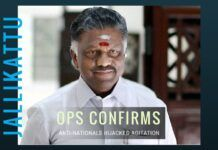 By acting quickly and decisively, Panneerselvam may have earned the trust of the Central Govt.