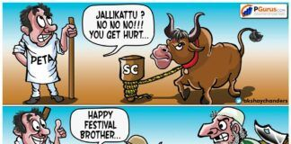 What was PETA thinking when they argued in the Supreme Court for banning Jallikattu?