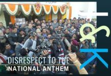 Politics touch a new low in J&K assembly as playing of the National Anthem is interrupted