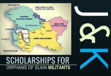 Details on scholarships given to orphans of slain militants in J & K