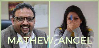 Transcript of a 9 min conversation between Mathew Samuel of Narada News and a journalist colleague Angel Abraham on honey traps