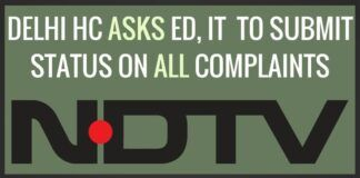 Delhi HC asks ED and IT to file probe status on all complaints against NDTV