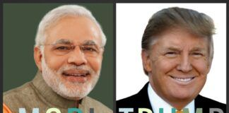 An opinion piece on the performance of Trump v Modiji