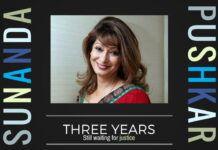 Three years on, Sunanda is still awaiting justice