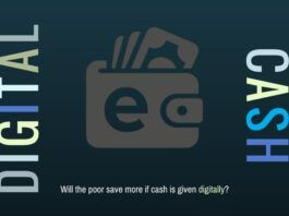Will the poor save more if cash is given digitally?
