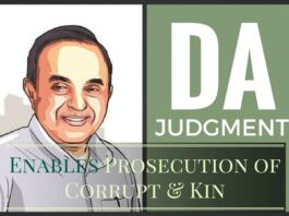 Kin of the corrupt can aslo face jail term thanks to The DA case judgment