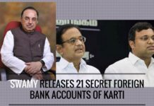 More troubles for Karti Chidambaram with the disclosure of his secret foreign accounts