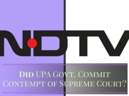 Despite SC judge's observations, why did the UPA Govt. not look into NDTV violations? Who prevented it?