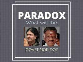 A paradoxical situation has developed for the Governor. How will he untangle it?
