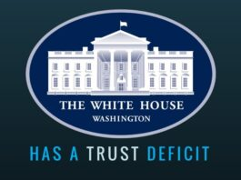 White House is leaking like a sieve and there is a trust deficit