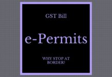 Why are the states insisting that under GST, vehicles with e-Permits must stop at the border?