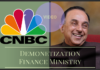 CNBC Asia interviews Dr. Swamy on Demonetization and Finance Ministry