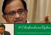 Income Tax Dept. uneartherd the assets & foreign bank accounts of the Chidambaram family