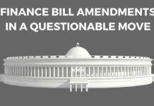 Finance bill amendments 2017