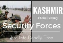 Parts of Kashmir valley observed complete shut down