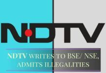 NDTV admits guilt, writes to BSE, NSE and withdraws frivolous lawsuits - Is the end near?