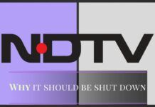 More lies from Prannoy Roy and his henchaman at NDTV