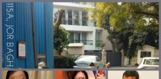 Why is Chidambaram renting one floor of a posh apartment from his wife and son?