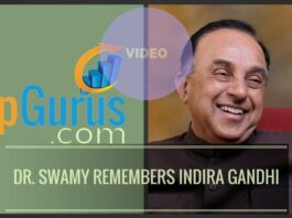 Dr. Swamy's memories of Indira Gandhi, from meeting her first in Harvard in 1965 to debates in the Parliament, Nuclear Policy and more