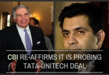 CBI confirms that it is probing Tata covert financing in 2G Scam