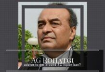 Is Rohatgi showing liquor shops a way around the Supreme Court judgment of staying at least 500 meters from highways?